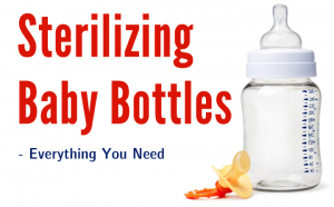 Bottle Sterilizing Needs