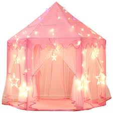 Elaborate play tent